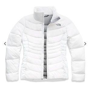 White NorthFace Aconcagua Jacket Size S